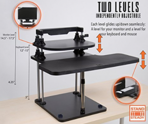 the latest dc8b7 9e3f7 Most Affordable Sit/Stand Desks | Sit/Stand Desk Conversion