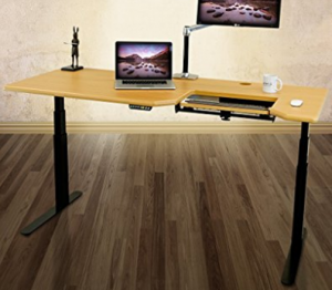 office desks for tall people. This Desk Is Flat Out Tall. The Height With Desktop 50.5\u2033. According To Chart I Mentioned Above, Someone 6\u00278\u2033 Could Comfortably Use Office Desks For Tall People