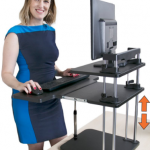 Stand Steady's UpTrak Dual Level Standing Desk-a Detailed Review