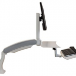 iMovR Cadence Standing Desk Converter-A Top Shelf Standing Desk