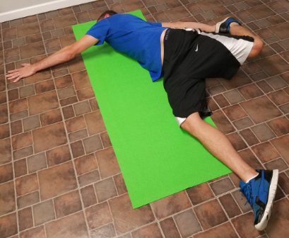 What is the psoas stretch?