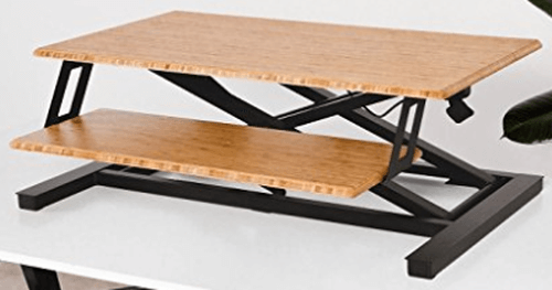 Fully Cooper Standing Desk Converter Review One Of The